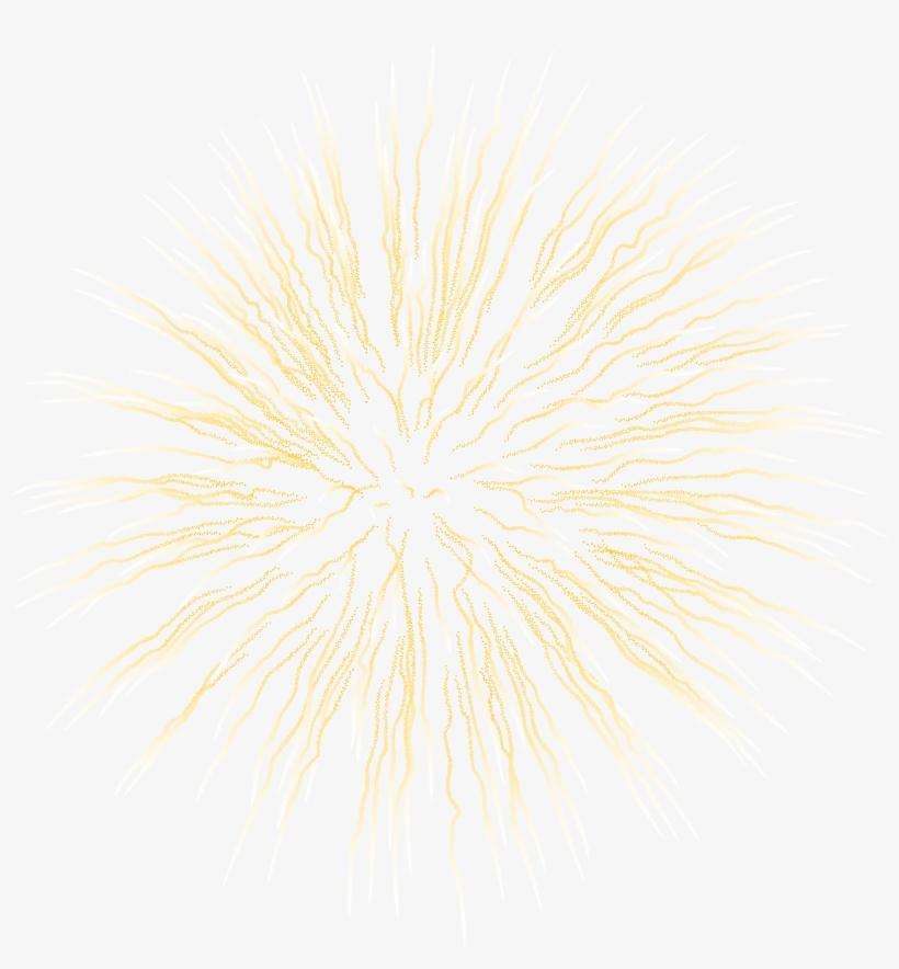 Gold Fireworks Png Download - High Quality Firework, transparent png #1626258