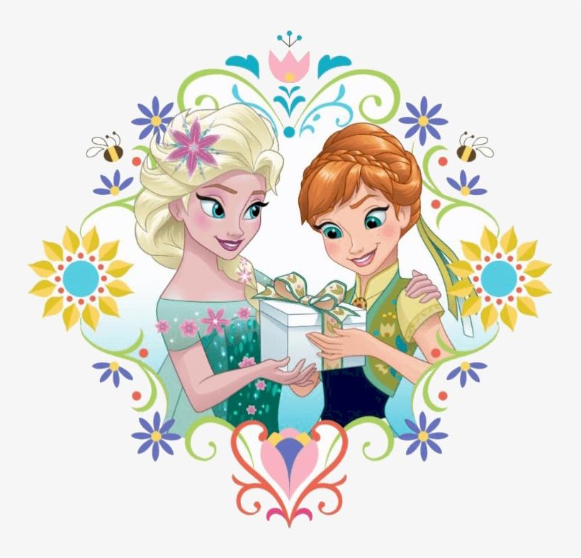 Clipart Of Frozen - Disney Frozen Fever Clipart, transparent png #1626368