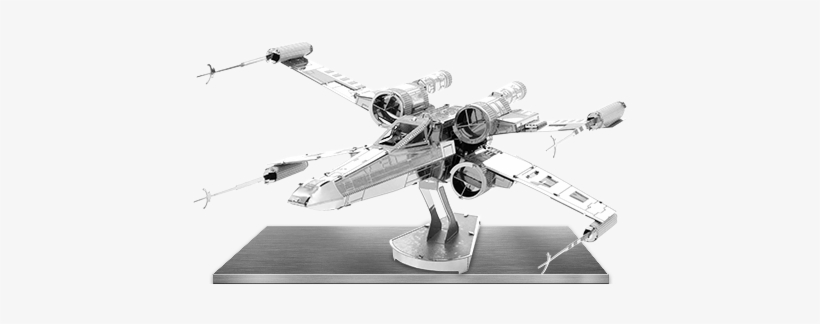 Picture Of Star Wars - Metal Earth Sw X-wing Metal Model, transparent png #1627075