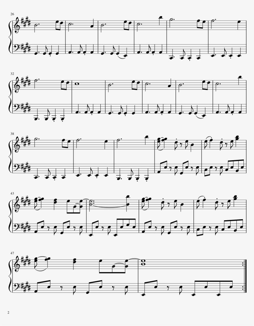 Heartache For Clarinet - Heartache Clarinet Sheet Music, transparent png #1627589