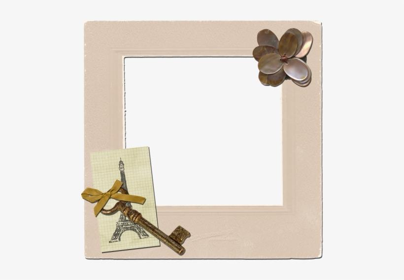 Frame,vintage Frames, - Paris Photo Frame Transparent, transparent png #1628262
