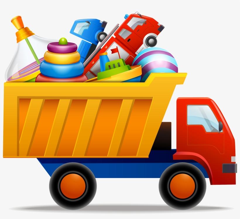 Toy Car Vector Png Clipart - Car Toy Clip Art, transparent png #1628495