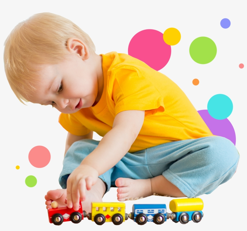 Kid Playing With Toys Png, transparent png #1629081