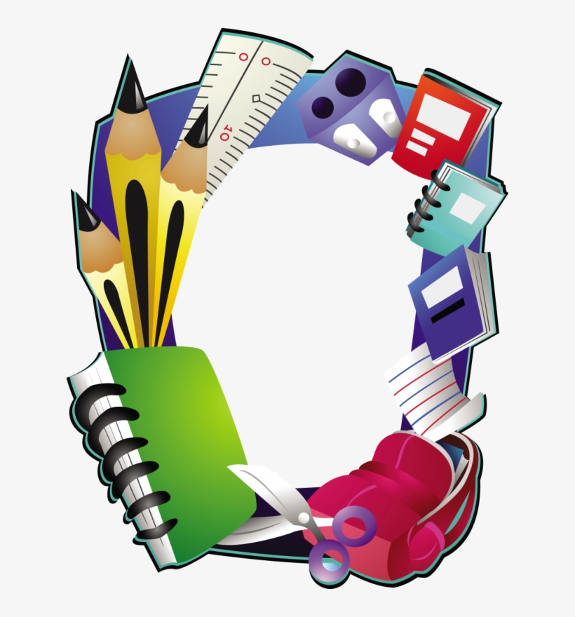 Png Pinterest Scrapbook - Frame Design For School, transparent png #1629230