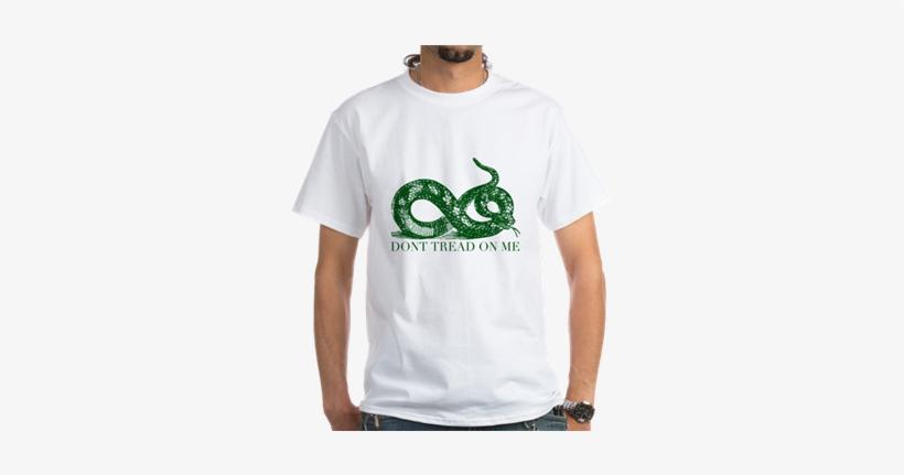 Dont Tread On Me Gadsden Flag Libertarian Merch - Dont Tread On Me Snake Shirt, transparent png #1630025