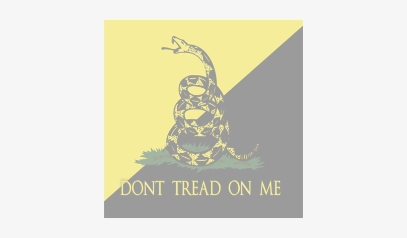 Don't Tread On Me - Dont Tread On Me Flag, transparent png #1630644