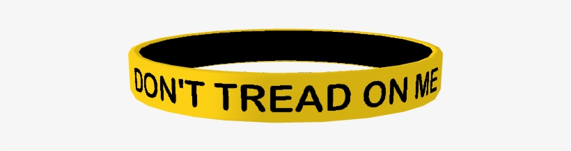 Don't Tread On Me - Silicone Wristband Dont Tread On Me, transparent png #1630953