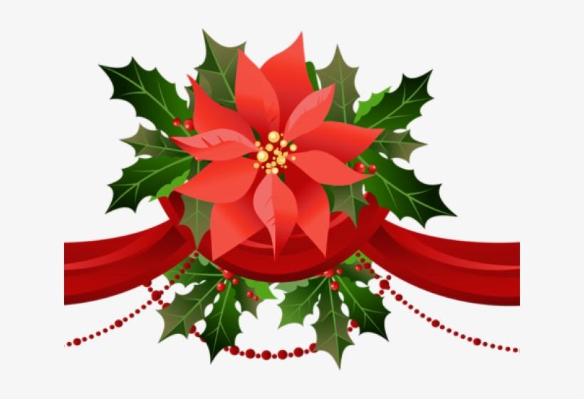 Poinsettia Clipart Shradhanjali Transparent Background Christmas