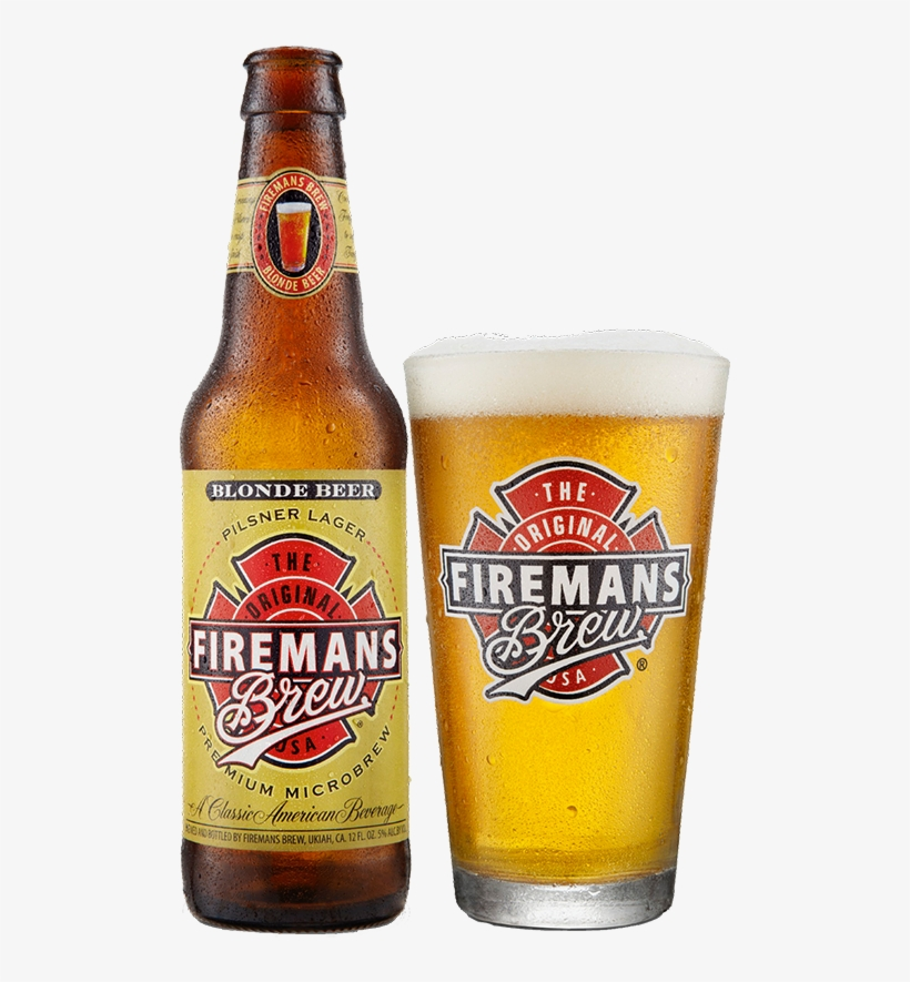 Blonde - Fireman's Brew Redhead Ale - Fireman's Brew, Inc., transparent png #1631725