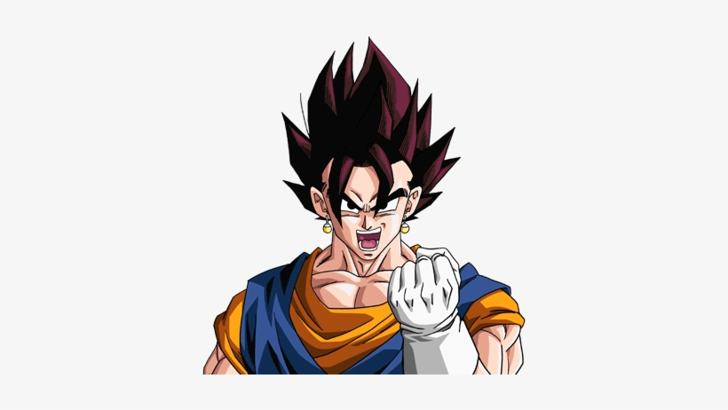 Vegito Fusion Goku Y Gohan Free Transparent Png Download Pngkey