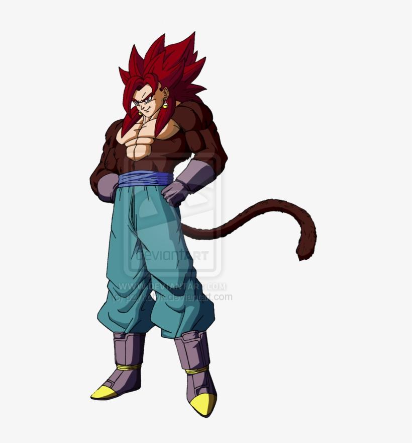 Ssj4 Vegito - Dragon Ball Z Super Saiyan 4 Vegito, transparent png #1632937