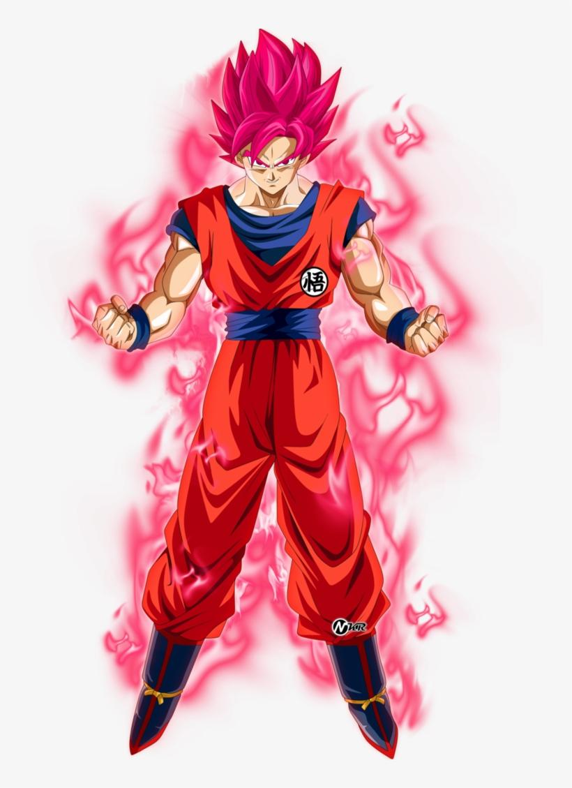 Goku Ssj Rojo Kaioken By Naironkr On Deviantart - Dragon Ball Super Goku Ssj Red, transparent png #1633200