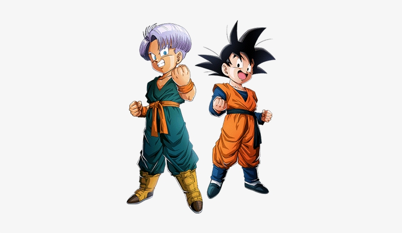Lr Goten And Trunks - Goten And Trunks Png, transparent png #1633257