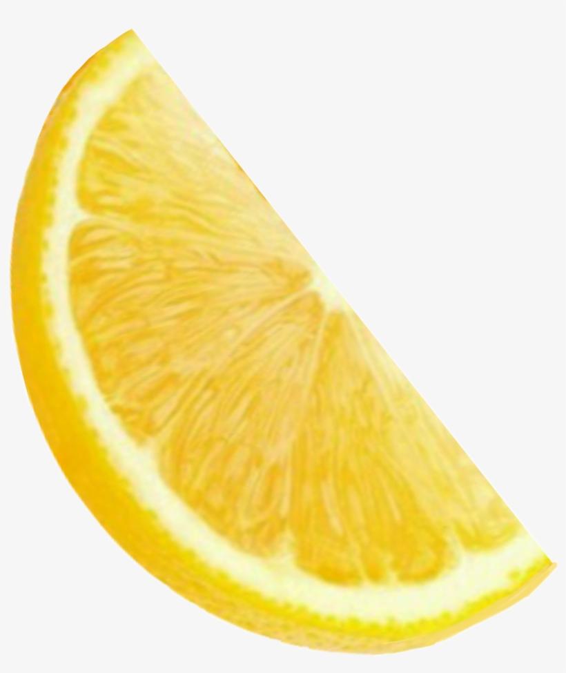 Lemon Lemonade Orange Slice Yellow Friut Yummy Bright - Lemon, transparent png #1633298