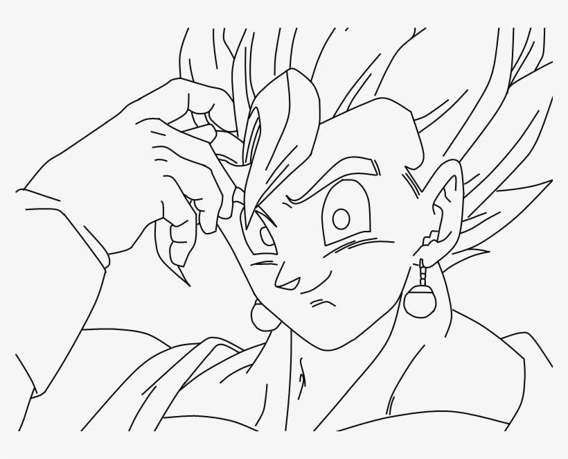 Imagenes De Gogeta Y Vegito Para Dibujar: Dragon Ball Super Para Dibujar