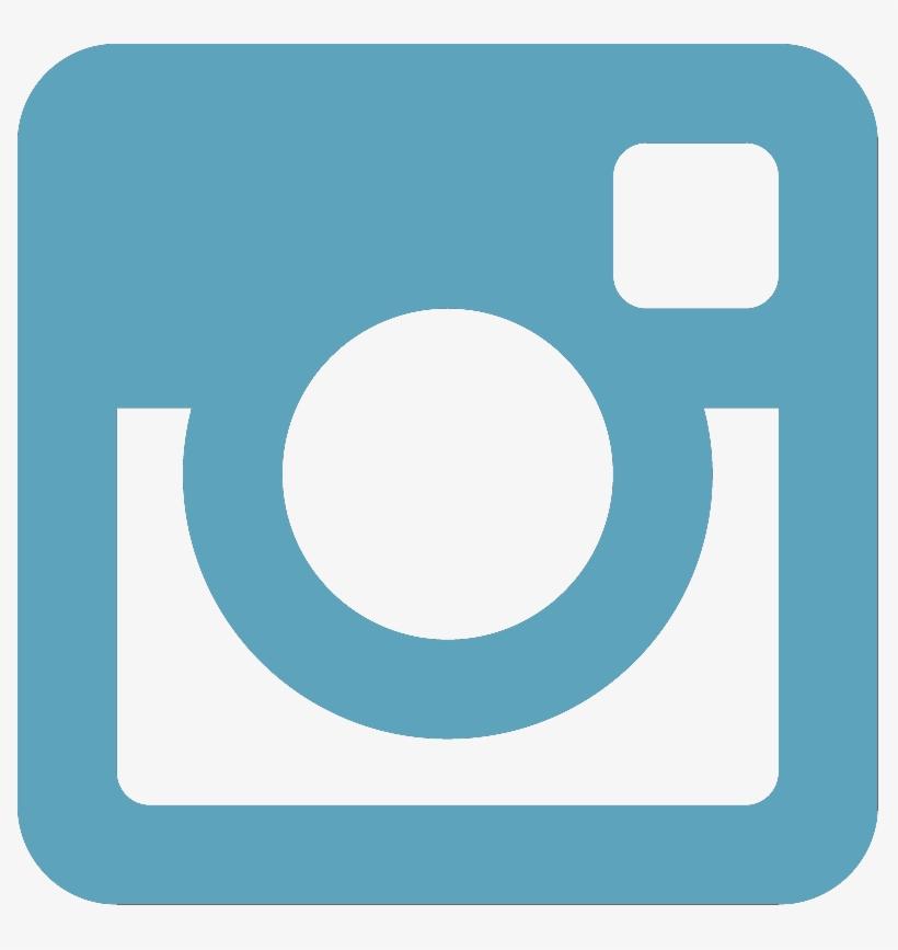 Instagram blue. Clipart logo collection transparent