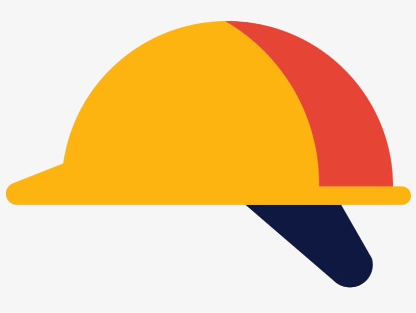 A Constructive Approach - Civil Engineering Hat Logo, transparent png #1634155