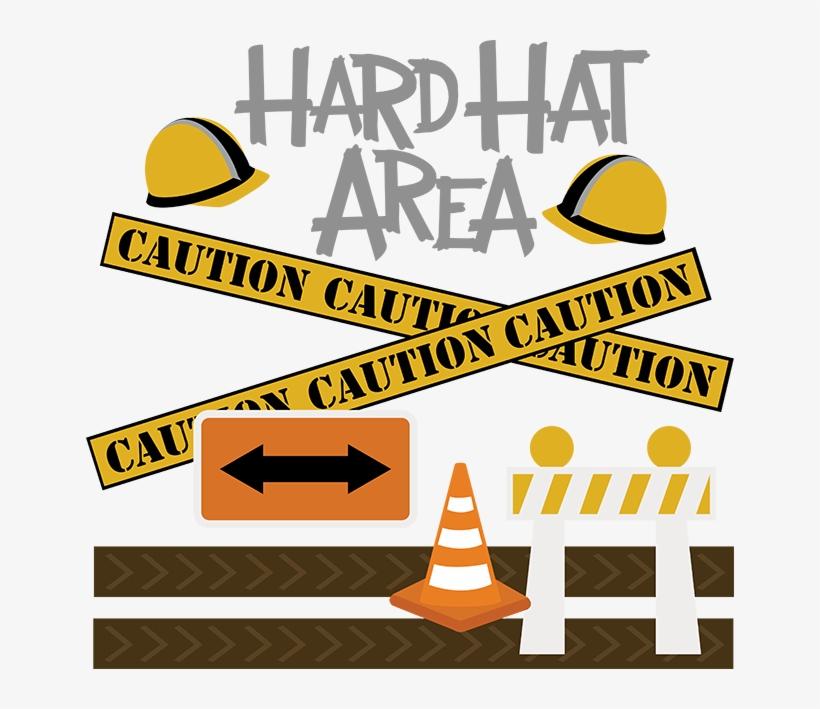 Hard Hat Area Svg Construction Svg File Free Svg Files - Hard Hat Area Clipart, transparent png #1634282
