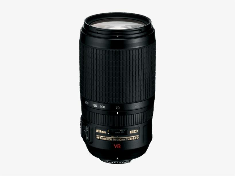 Nikon Af S Nikkor 70 300mm F/4 - Nikon 70 300 Vr, transparent png #1634563