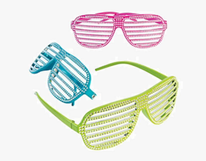 Bling Shutter Shading Glasses - Shutter Shades, transparent png #1634585