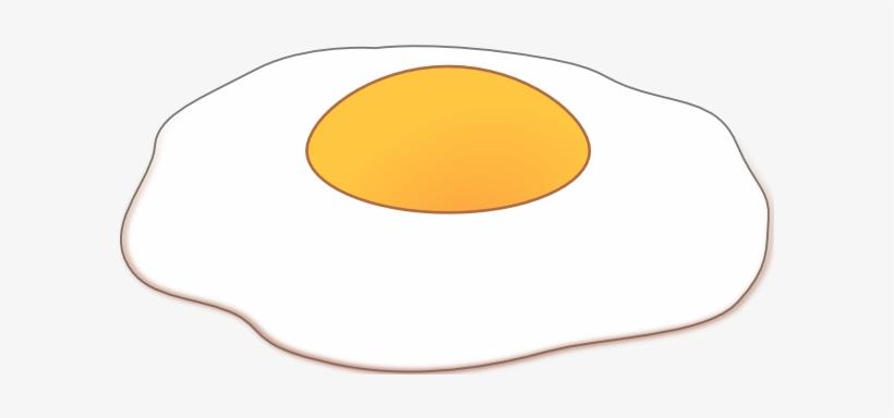 Side Up Clip Art At Clker Com - Sunny Side Up Cartoon, transparent png #1634892