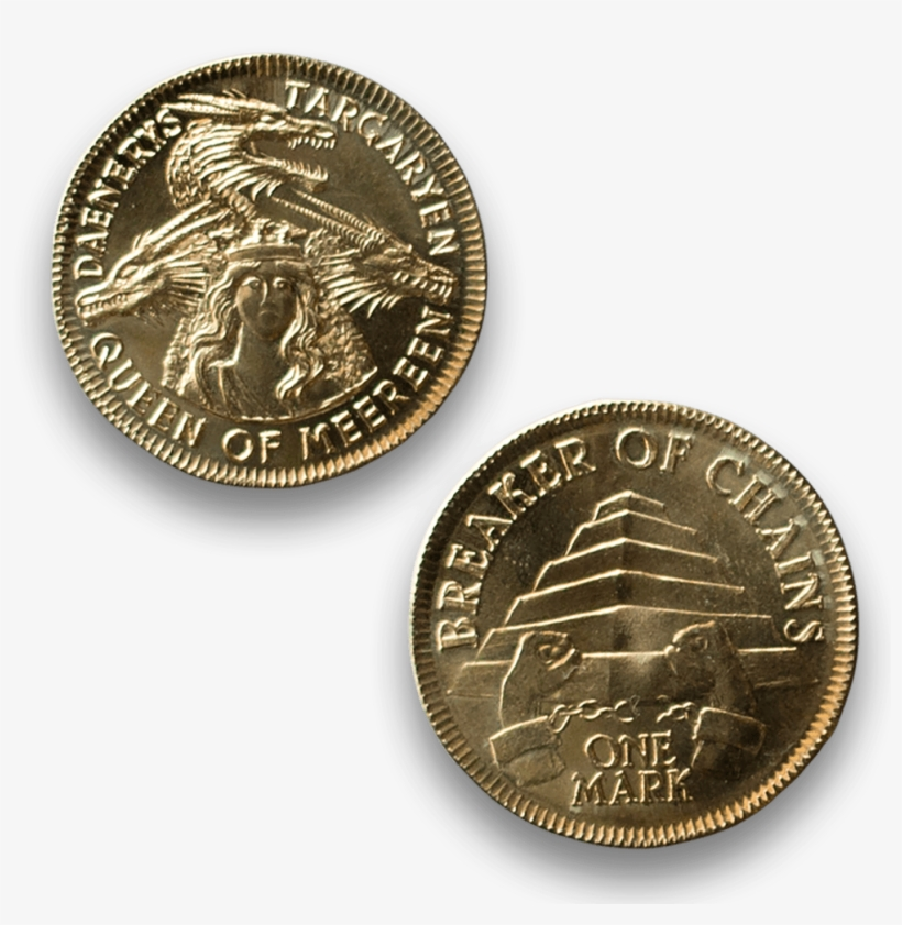 Official Game Of Thrones Coin - Game Of Thrones Coin Png, transparent png #1635809