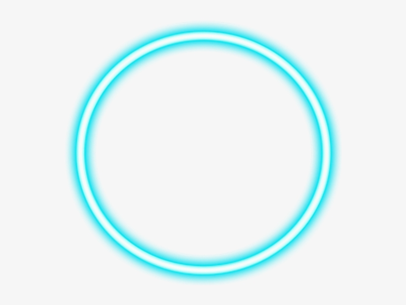 Neon Light Tumblr Circle Freetoedit Bright - Neon Sign Circle Png, transparent png #1636540