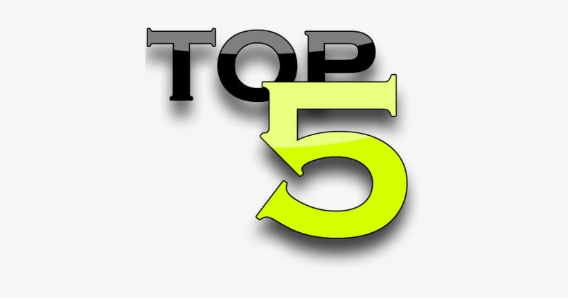 Top Five Internet Marketing Blog Posts - Top Five Png, transparent png #1636823