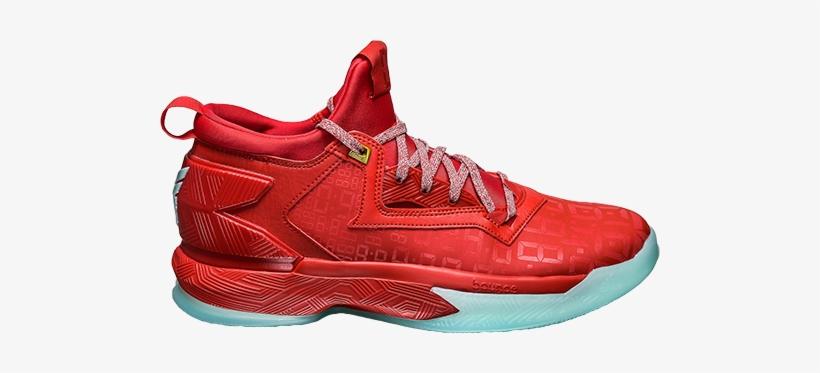 238304560 Adidas D Lillard 2 Dame Time - Basketball Shoes Transparent Background