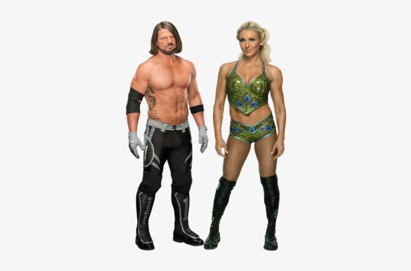 Fenomenal Flair - Charlotte Flair And Aj Styles, transparent png #1637643