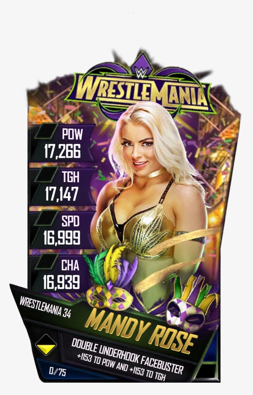 Wwe Supercard Wrestlemania 34 Cards, transparent png #1637844