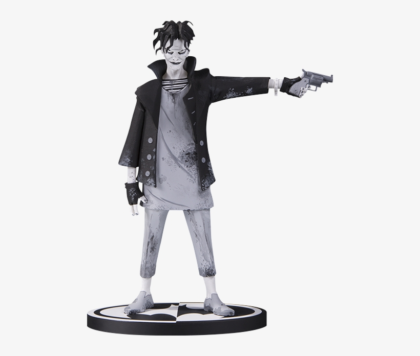 The Joker Statue - Gerard Way Batman Black White, transparent png #1638893