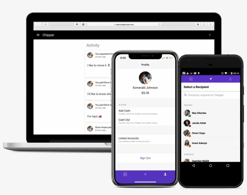 Chipper Cash App - Business - Free Transparent PNG Download