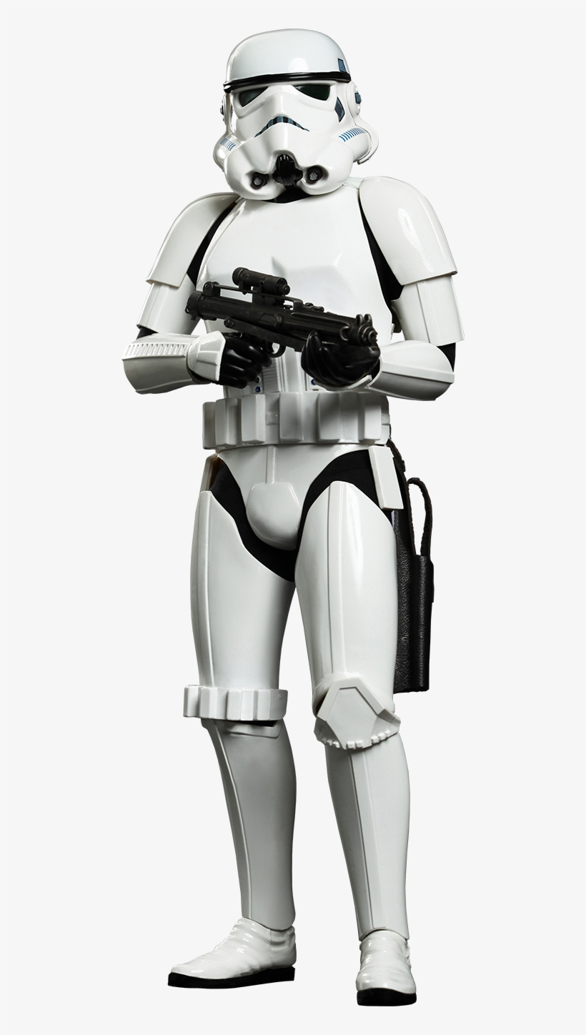 Hot Toys Stormtrooper Sixth Scale Figure - Stormtrooper Movie Masterpiece 1/6 Star Wars, transparent png #1639553