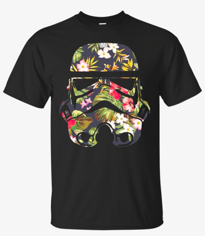 Star Wars Stormtrooper Flower Shirt, Hoodie Tank - Ghost Band Shirts Dracula, transparent png #1639752