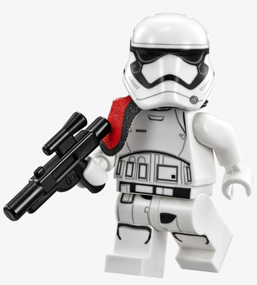 75104 First Order Stormtrooper Captain - Lego Star Wars First Order Stormtrooper Minifigure, transparent png #1639793