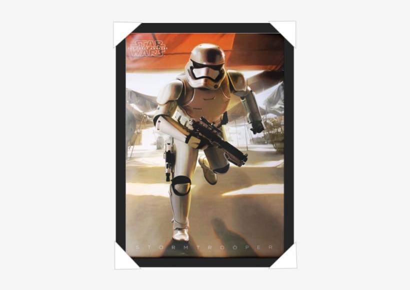 #271 - Star Wars First Order Stormtrooper Art, transparent png #1639797