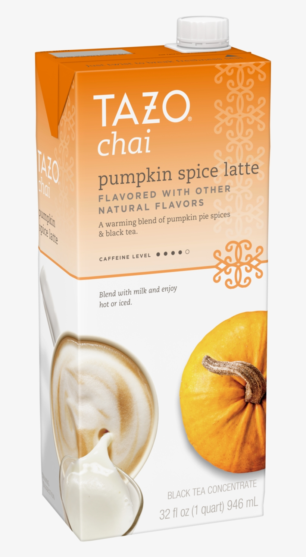 Tazo Chai Pumpkin Spice Latte 32oz - Tazo Chai, transparent png #1639992