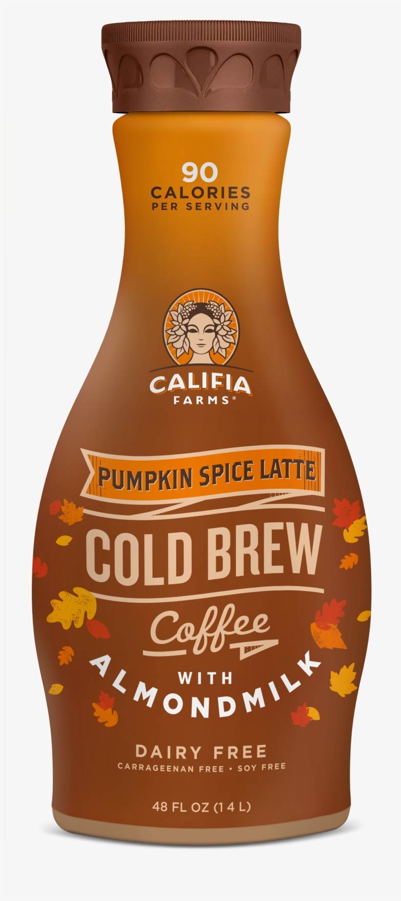 How To Buy - Califiafarms Pumpkin Spice Latte Cold Brew Coffee, transparent png #1640342