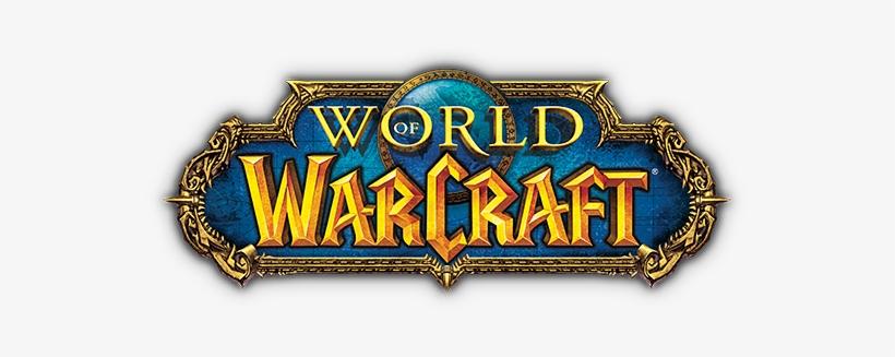 Game Logo Wow - World Of Warcraft Logo, transparent png #1640365