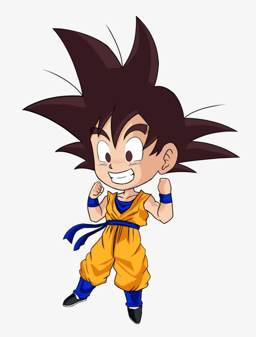 Goten Chibi - Dragon Ball Super Goten Chibi, transparent png #1642403