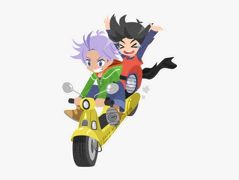 Chibi Trunks And Goten I Almost Forgot How Much I Loved - Dragon Ball, transparent png #1642767