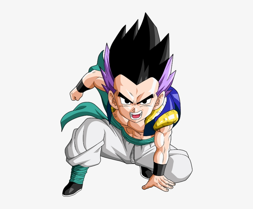 Is The Fused Form Of Goten And Trunks - Dragon Ball Gotenks Png, transparent png #1642958