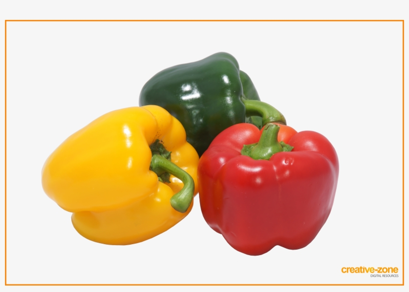 Yellow, Green, Red Pepper - Green Yellow And Red Chili Peppers, transparent png #1643735