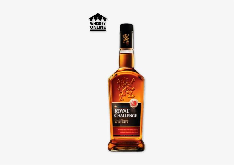 Royal Challenge Whisky 750ml - Royal Challenge Whisky Logo, transparent png #1648836