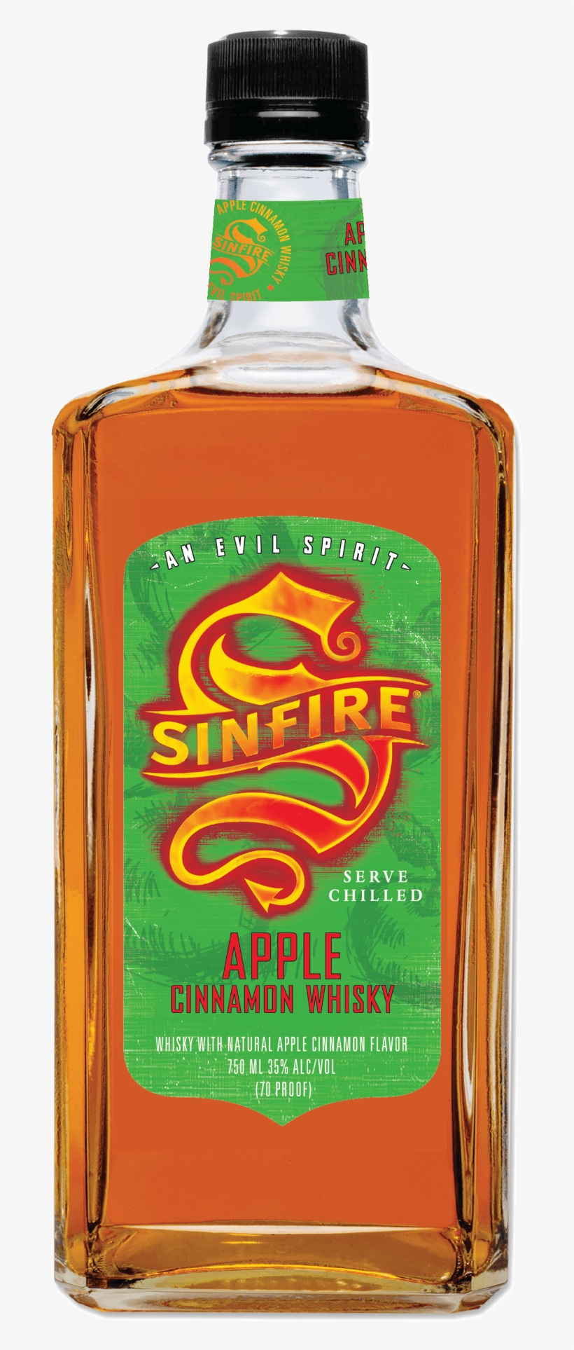 Can You Out-fireball Fireball By Adding Apples To The - Sinfire Apple Cinnamon Whiskey, transparent png #1648890