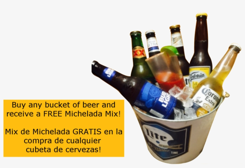 Beerbucketmodifiedreal Mixed Beer Bucket Png Free Transparent