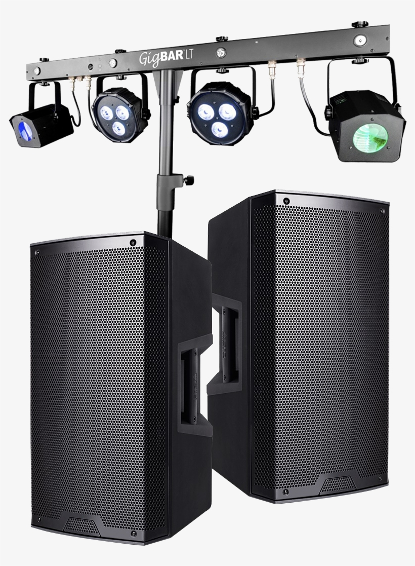 Dj Booth - Chauvet Dj Gigbar 2 4-in-1 Led Lighting System, transparent png #1649655