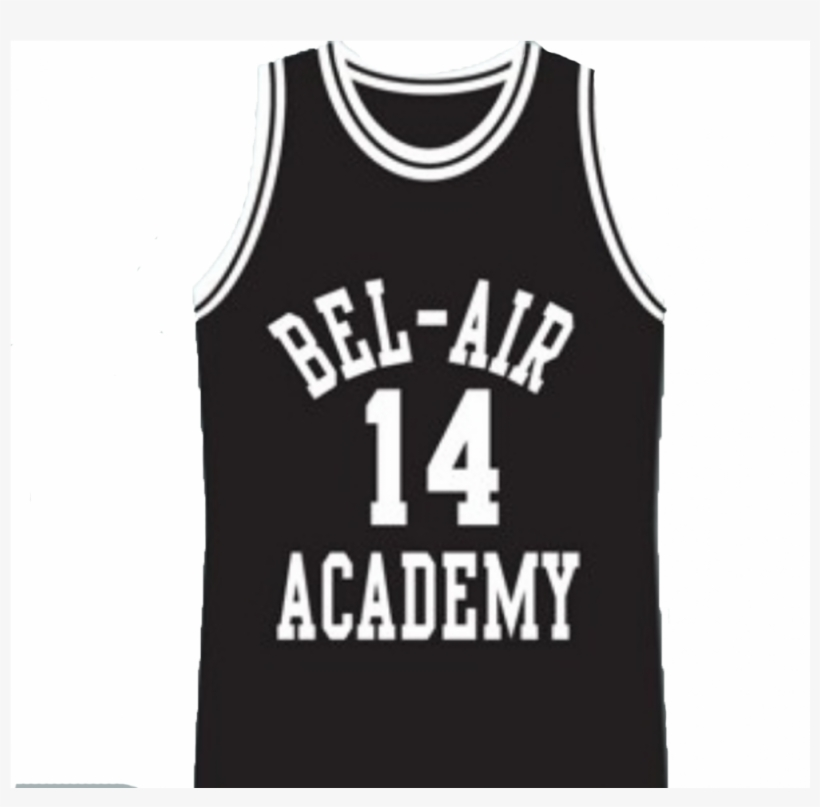 Will Smith - Bel Air Academy Basketball Jersey Black Or Red, transparent png #1650593