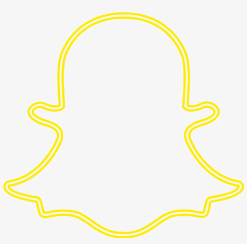 Snapchat Logo Neon Png Free Transparent Png Download Pngkey
